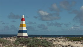 A colorful beacon stock video footage