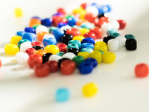 Colorful Bead Assortment Royalty Free Stock Photo