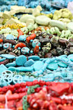 Colorful Bead Necklaces Royalty Free Stock Image