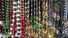 Colorful Bead necklaces Royalty Free Stock Photos