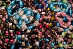 Colorful Beaded Necklace Royalty Free Stock Photos