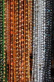 Colorful beads Stock Image