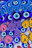 Colorful beads against the evil eye Stock Image