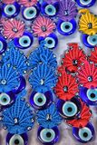 Colorful beads against the evil eye, Royalty Free Stock Images