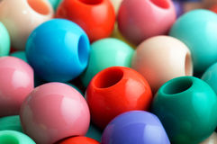 colorful beads background Royalty Free Stock Images