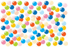 Colorful beads background Royalty Free Stock Image