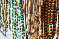 Colorful beads background Royalty Free Stock Photos