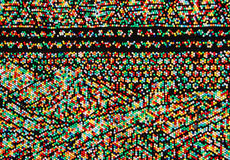 Colorful beads background Royalty Free Stock Photography
