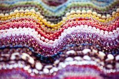 Colorful beads background Stock Photography