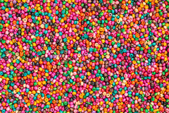 Colorful beads. Colorful Ceramics beads for background Stock Photos