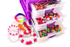 Colorful Beads Stock Photography