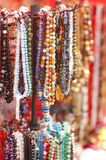 Colorful beads collection Royalty Free Stock Photography