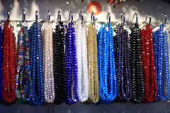 Colorful beads Royalty Free Stock Image