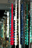Colorful beads and necklaces - 6 Royalty Free Stock Photos