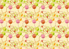 Colorful  beads pattern Stock Photography