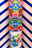 Colorful Beam Traditional Chinese Style Stock Photos