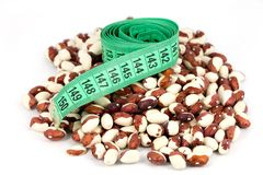 Beans and meter Stock Image