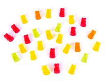 Colorful bears gum Stock Photos