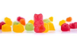 Colorful bears gum Royalty Free Stock Photography