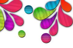 colorful beautiful flowers, abstract background Stock Photos