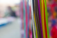 Colorful of beautiful wire Royalty Free Stock Image