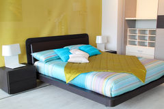 Colorful bedroom Royalty Free Stock Image