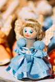 Colorful Belarusian Straw Doll At Local Market In Belarus Royalty Free Stock Image