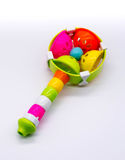 Colorful bell baby toy Royalty Free Stock Photos