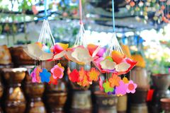 Colorful bell for home decoration Stock Photography