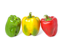Colorful bell pepper Royalty Free Stock Image