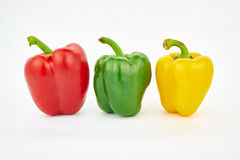 Colorful bell pepper Stock Photos