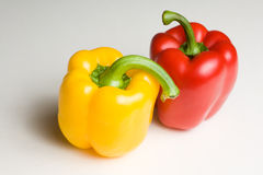 Colorful bell peppers. Royalty Free Stock Photography