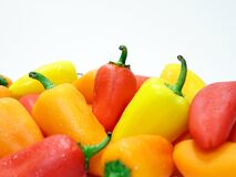 Colorful bell peppers Stock Image