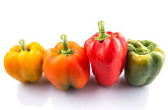 Colorful Bell Peppers II Stock Images