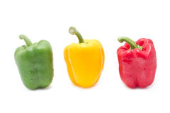 Colorful Bell Peppers. Stock Photos