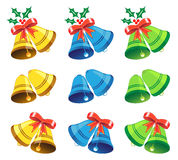 Colorful bells Royalty Free Stock Photos