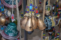 Colorful bells Royalty Free Stock Image