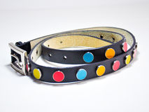 Colorful belt for girls Royalty Free Stock Photos