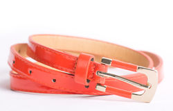 Colorful belts Royalty Free Stock Photography