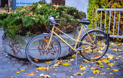 Colorful bicycle Stock Images