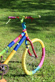Colorful bicycle Royalty Free Stock Photo