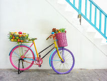 Colorful bicycle Royalty Free Stock Photography