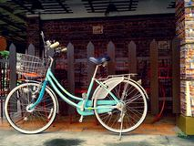 Colorful bicycle Stock Photography