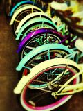 Colorful Bicycles Stock Image