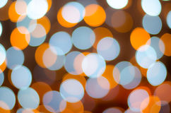 Colorful big background with bokeh lights Stock Images
