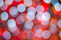 Colorful big background with bokeh lights Stock Photo