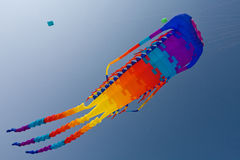 Colorful big kite Royalty Free Stock Photography