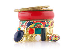Colorful bijou Stock Images