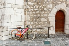Colorful bike Royalty Free Stock Photo