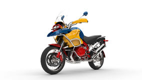 Colorful Bike Front View Royalty Free Stock Image